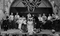1949 Aberlady Gala Queen Crowning